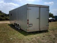 Up for sale is a 2004 Pace 36' gooseneck cargo trailer