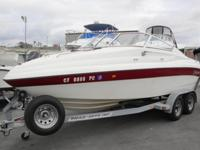 GREAT DEAL!208 Seaswirl Cuddy cabinPowered by a V8