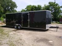 2012 Demo 26' American Hauler Car Trailer, v-nose with