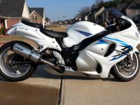 I have a 2009 Suzuki Hayabusa with approximately 6000