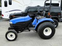 YOUR LOOKING AT A NEW HOLLAND TC 33 D HST 4X4, DIESEL,