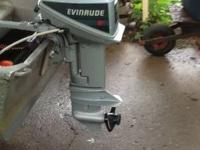 1986 short shaft. 9.9with tank excellent condition