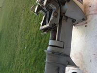 9.9 HP VERY LIGHT Short Shaft Evinrude  This is an
