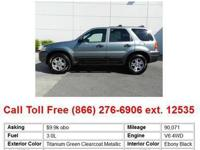 2005 Ford Escape Titanium Green Clearcoat Metallic XLT