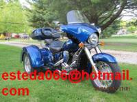 Up for sale, my 2010 Lehmen Storm Trike based on the