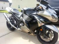 Im selling a limited edition 2010 kawasaki zx14. The