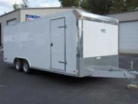 This new Raven model ATC all aluminum trailer features
