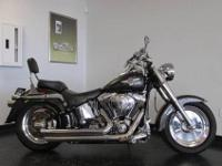 2005 HARLEY DAVIDSON FLSTFI FATBOY SOFTIAL CHROMED OUT