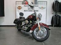 bBSoftail Heritage Big Twin. Less than 10k with
