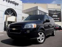 This 2007 Chevrolet Uplander LT features a 3.9L V6 SFI