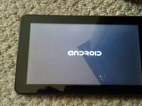 "Double Power M980K 9""touchscreen tablet computer. front"