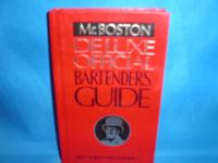Mr. Boston Deluxe Official BARTENDERS GUIDE. Contains
