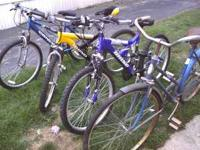 I got 9 different bikes for sale. Come and look. Call