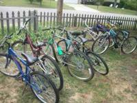 I have 9 different bikes to choose from. Bikes nare 15