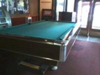 9 Foot Pool table For Sale /Brunswick Montana Model