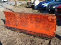 For sale is a 9-Foot Snow Plow. It would work for a