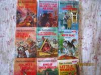 Set of 9 Great Illustrated Classics Book for sale all