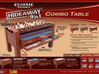 Product Description  Classic Sport 54-Inch Hideaway