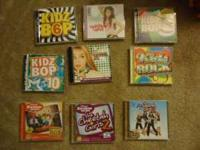 Kids bop and hanna montana mostly Call Herbert at  or