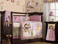 CoCaLo Jacana bedding set for baby girl. Great