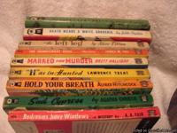 In this sale lot is 9 paperback books dating from 1938