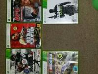 9 adult possessed xbox 360 video games. 50 takes all 9