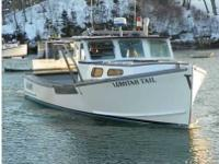 33' Flower Lobster Boat, 225 John Deer with 4000 hours,