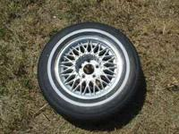 "15"" wheel for Lincoln, has a spot of curb burn. $30,"