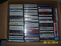 ASSORTMENT OF 90 MOSTLY CLASSIC ROCK TITLES INCLUDING A
