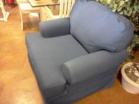 Big Blue Couch in Great condition Very Comfortable for