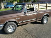1990 Ford F150. Inline 6 Cylinder Engine. Automatic
