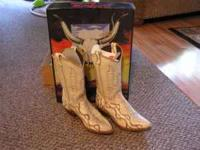 For sale are Genuine Abilene Cowgirl boots size 10.
