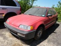 We have actually just gotten this Rio Red 1990 Honda