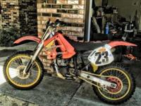 I have a 90 CR250R up for sale. This is a fast bike.