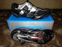 I'm selling a slightly used pair of Shimano Road