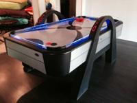 Really excellent condition air hockey table, constantly
