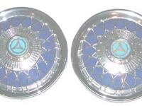 "N.O.S. STYLING ACCESSORY (set of 2) 10"" SPOKED BLUE"