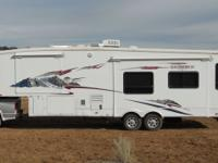 2008 35' Big Horn Travel Trailer for Sale or Rent Will