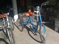 I have 2 tricycles one is a 3 speed one is a single