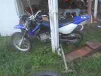 nice clean dirtbike rides well shifts smooth never race