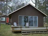 Stay at a beautiful cabin on gorgeous, crystal clear