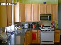 A sunny, 1000sf, 3 bedrooms apartment located across