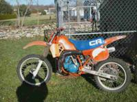 Have 2 dirt bikes for sale.One is a XR200 & the other