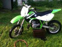 This KX 65 is in like-new condition. It has a brand new
