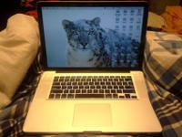 15 inch Macbook Pro with Snow Leopard software for