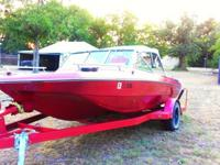 1982 Chevy Mercruiser Boat 120hp. Nice boat for family