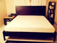 "KING size 8"" Memory Foam Mattress - (only 3 months old)"