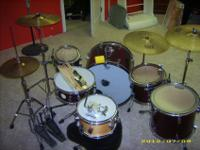 Hi, I have a Pacific (PDP) / DW drum set for SALE OR