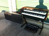 I have a dual-manual digital Hammond B3 organ clone for