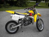 1998 Suzuki RM-80. I've had this bike for about twelve